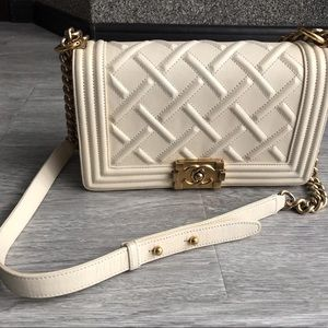 Chanel Old Medium Le Boy Bag